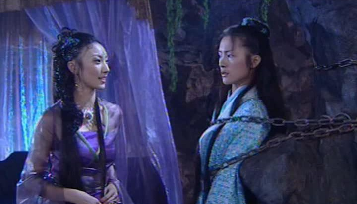 Một cảnh trong phim ''Linh Hồ Tiên Hạc''.