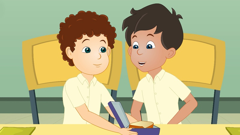 Sam và Frank là đôi bạn thân của nhau đang học ở trường.