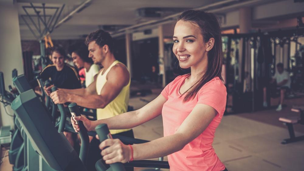 """Fitness với mục tiêu chính là """"để có một cơ thể khỏe mạnh và cân đối""""."""