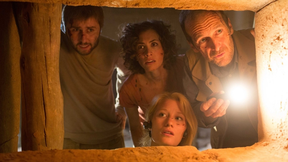''The Pyramid'' kể về một kim tự tháp bất ngờ được phát lộ. Một nhóm khảo cứu được gửi đi...