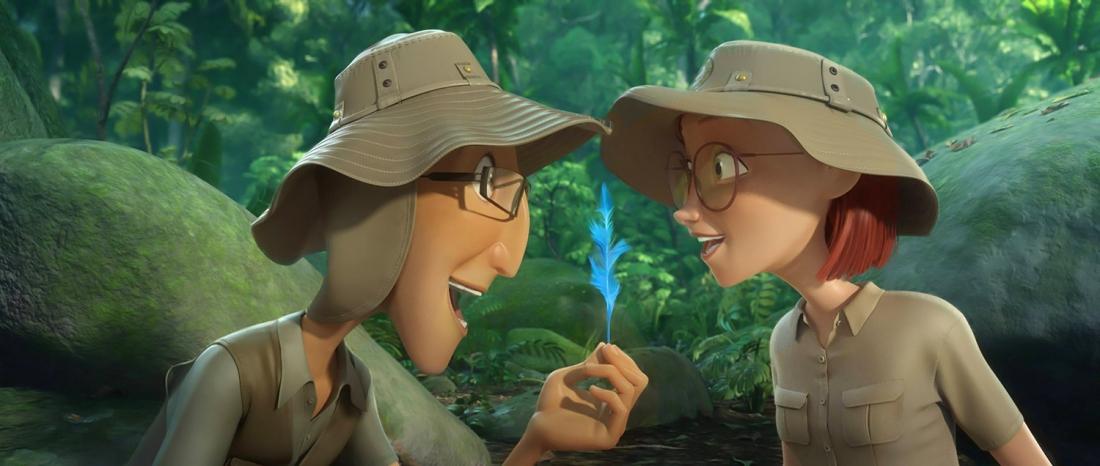 Chủ của Blu là Linda có những tiến triển tình cảm mới với nhà bảo tồn động vật học Tulio.