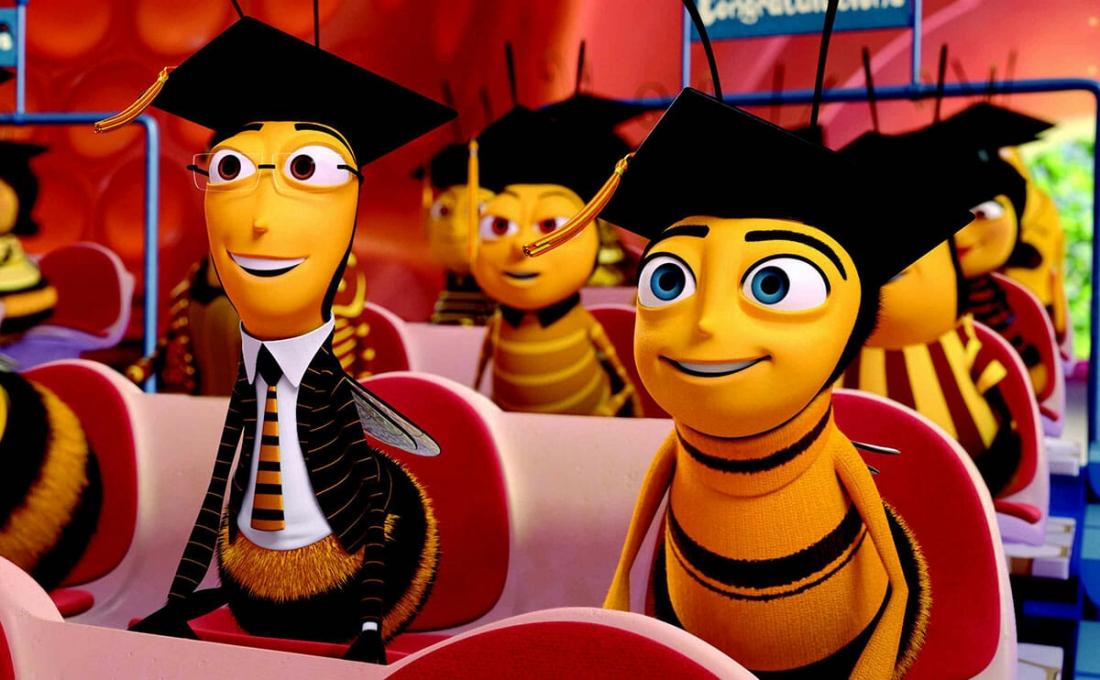 Barry là một chú ong thợ mới tốt nghiệp Trường Ong chuyên ngành tạo Mật.