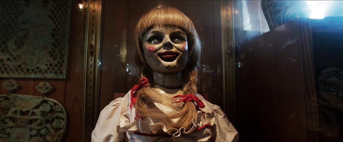 Con búp bê Annabelle ma quỷ trong ''The Conjuring''.