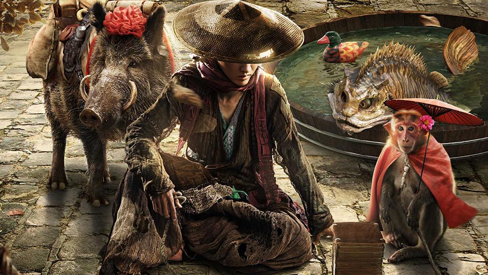 Đường Tăng thu phục được các đồ đệ đến Tây Thiên thỉnh kinh