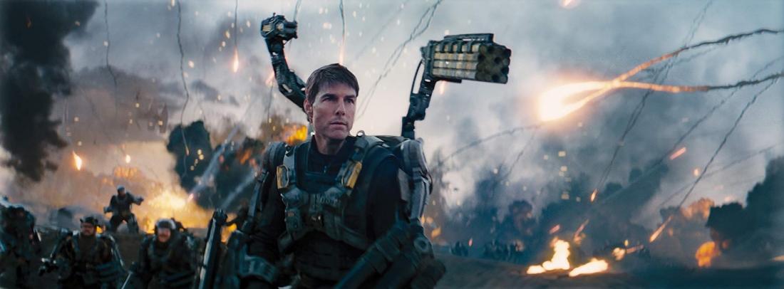 Giờ đây, Bill Cage phải lao ra chiến trường như một người lính thực thụ mà chưa hề được chuẩn bị kỹ năng gì để đối phó với những con quái vật ngoài hành tinh hung hãn.