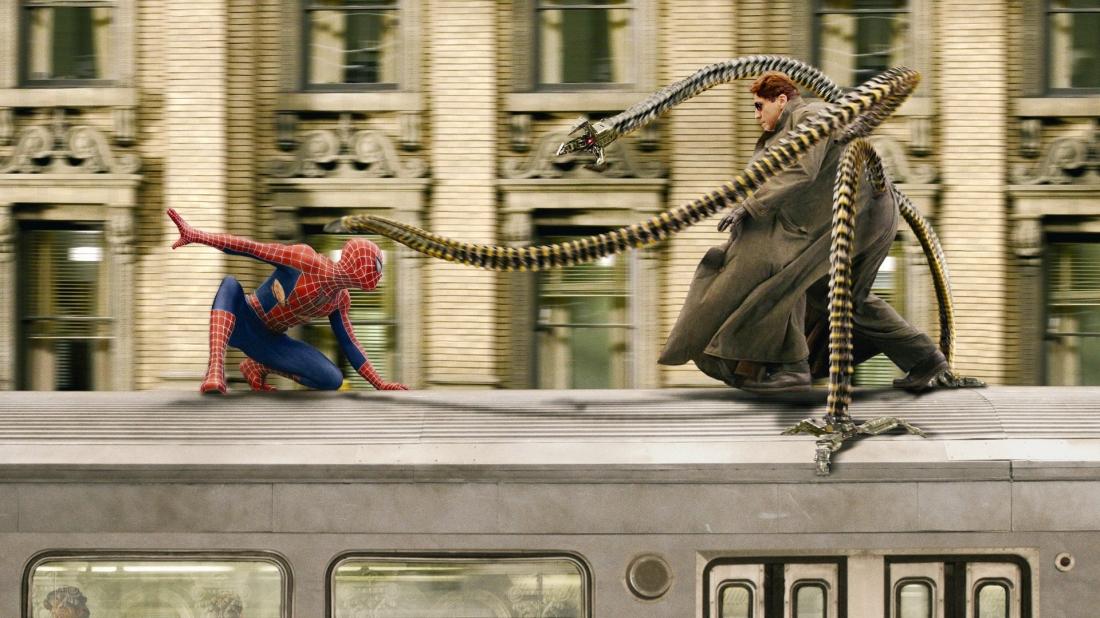 ''Người Nhện 2'' là phần thứ hai của series phim Spider Man.