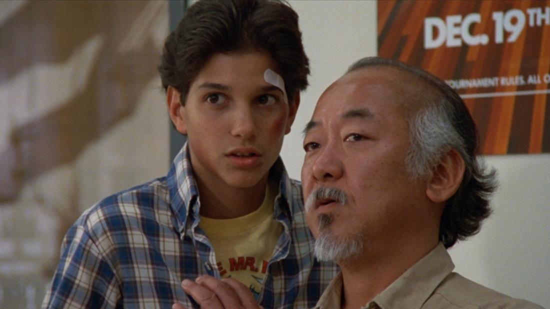 Số phận sắp đặt để Daniel gặp một ông già làm vườn tốt bụng. Vốn là một cao thủ karate ẩn danh, ông hứa dạy võ cho cậu để tự bảo vệ bản thân.
