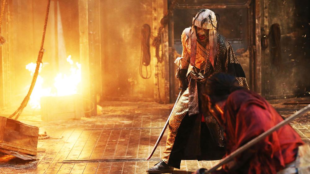 Một phân cảnh khác trong phim ''Rurouni Kenshin: The Legend Ends''.