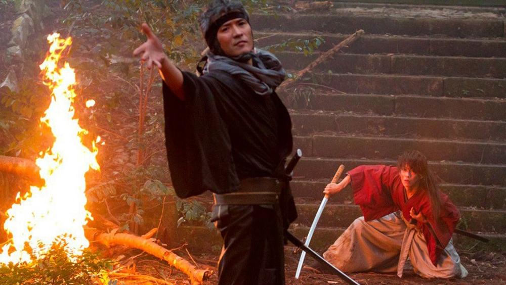 Một phân cảnh khác trong phim ''Rurouni Kenshin: Origins''.