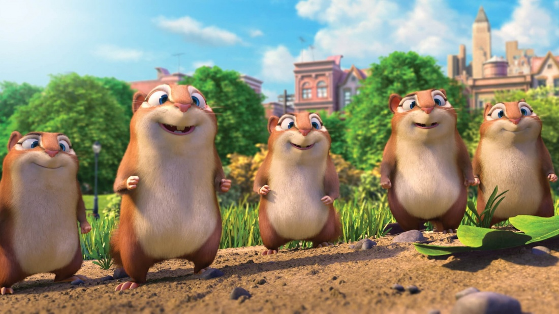 Chú sóc chuột Surly và những người bạn đang có cuộc sống sung túc ở tiệm hạt dẻ.