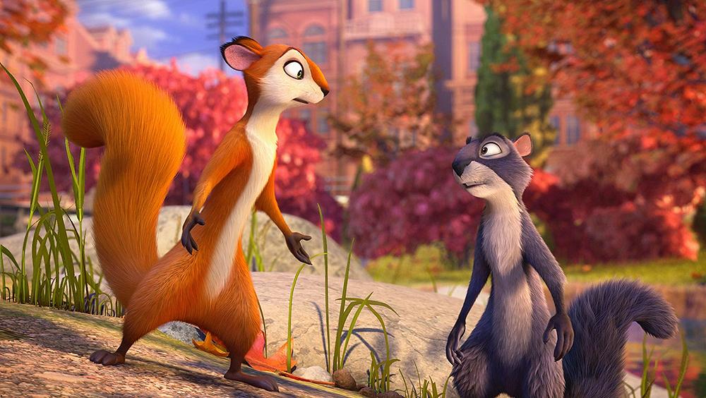 Phim xoay quanh cuộc phiêu lưu hài hước của Surly, một chú sóc cáu kỉnh, tinh quái bị trục xuất khỏi công viên của mình và buộc phải tồn tại trong công viên của một thành phố.