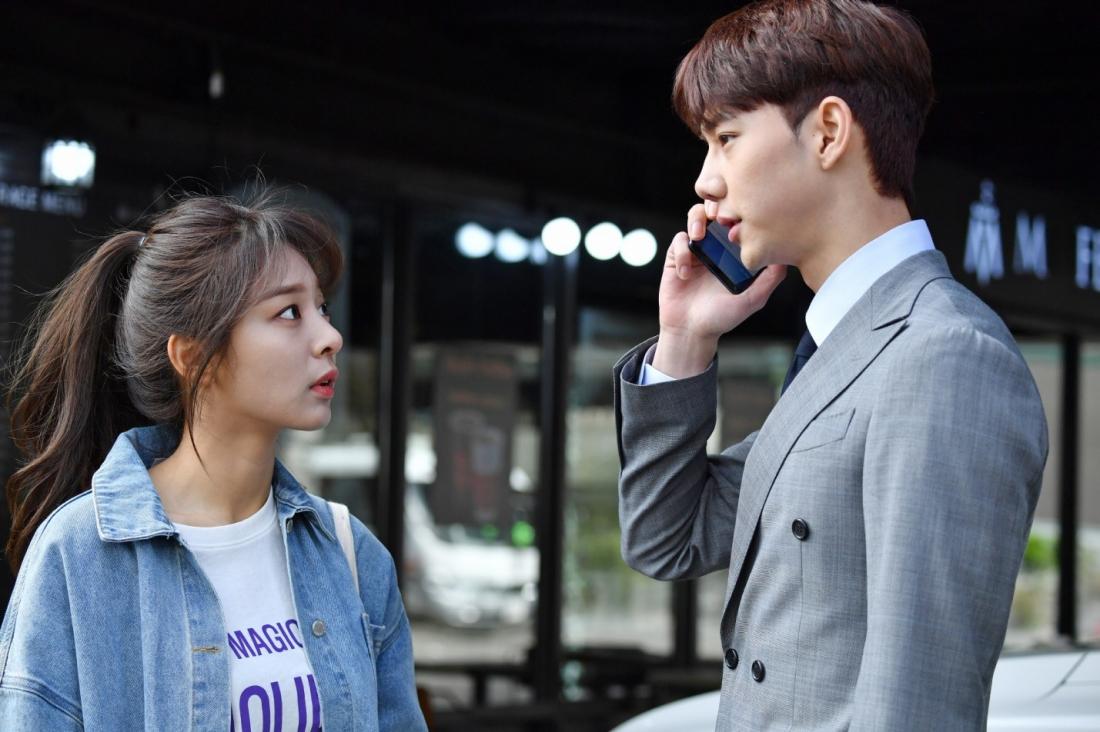 Hanui và Han Kyul là cặp đôi ''oan gia ngõ hẹp''.