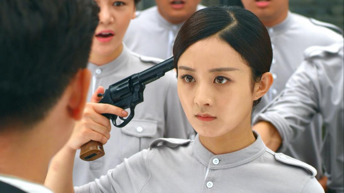 Lam Yên Chi - nữ thanh niên Thượng Hải cùng với bạn học của mình biểu tình, tham gia kháng chiến chống Nhật.