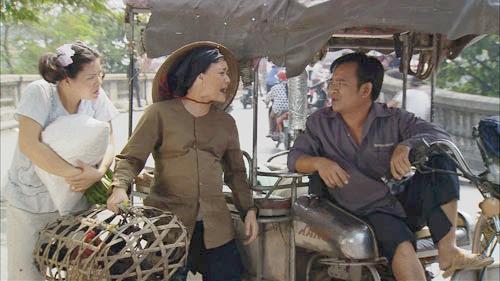 Vân Dung và Quang Thắng trong tiểu phẩm Bu thằng Bời