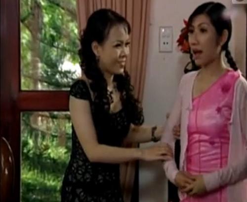 Việt hương trong một cảnh hài