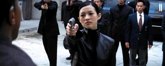 """Nữ minh tinh Chương Tử Di góp mặt trong một cảnh phim """"Rush Hour 2""""."""