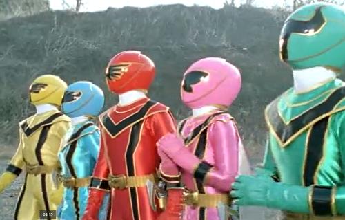 """Một phân cảnh trong """"Magic Ranger"""""""