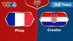 Chung Kết World Cup 2018: Pháp - Croatia