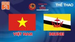 Trực Tiếp Vòng Loại U23 Châu Á: Việt Nam - Brunei