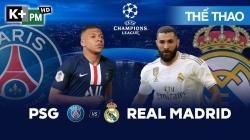 PSG - Real Madrid (H1) Champions League 2019/20: Vòng Bảng