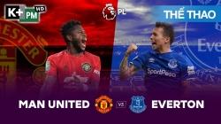 Man Utd – Everton (H1) Premier League 2019/20: Vòng 17