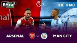 Arsenal - Man City (H1) Premier League 2019/20: Vòng 17