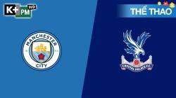 Man City - Crystal Palace (H1) Premier League 2019/20: Vòng 23
