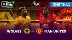 Wolves - Man Utd (H1) Premier League 2019/20: Vòng 2