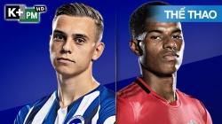Brighton - Man Utd (H1) Premier League 2019/20: Vòng 32