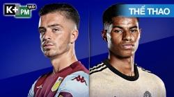 Aston Villa - Man Utd (H1) Premier League 2019/20: Vòng 34