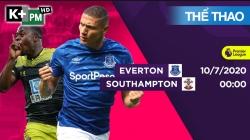 Everton - Southampton (H1) Premier League 2019/20: Vòng 34