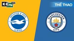 Brighton - Man City (H1) Premier League 2019/20: Vòng 35