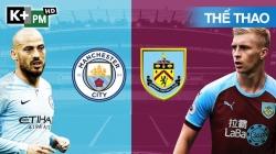 Man City - Burnley (H1) Premier League 2019/20: Vòng 30