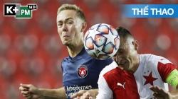 Slavia Praha - Midtjylland (H1) Champions League 2020/21: Lượt Đi Vòng Play-off