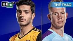 Wolves - Man City (H1) Premier League 2020/21: Vòng 2
