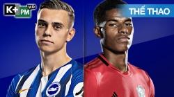 Brighton - Man Utd (H1) Premier League 2020/21: Vòng 3