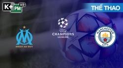 Marseille - Man City (H1) Champions League 2020/21: Vòng Bảng