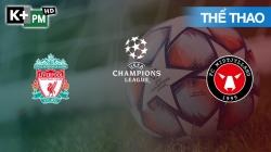 Liverpool - Midtjylland (H1) Champions League 2020/21: Vòng Bảng