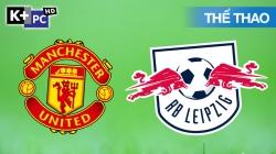 Man Utd - RB Leipzig (H1) Champions League 2020/21: Vòng Bảng