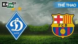 Dynamo Kiev - Barcelona (H1) Champions League 2020/21: Vòng Bảng