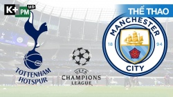Tottenham - Man City (H1) Premier League 2020/21: Vòng 9