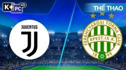 Juventus - Ferencvaros (H1) Champions League 2020/21: Vòng Bảng