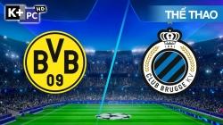 Dortmund - Club Brugge (H1) Champions League 2020/21: Vòng Bảng