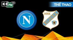 Napoli - Rijeka (H1) Europa League 2020/21: Vòng Bảng