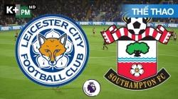 Leicester - Southampton (H1) Premier League 2020/21: Vòng 19