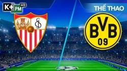 Sevilla - Dortmund (H1) Champions League 2020/21: Lượt Đi Vòng 1/8