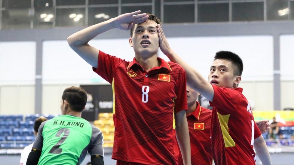 Giải Bóng Đá Futsal Vô Địch Đông Nam Á HD Bank 2017