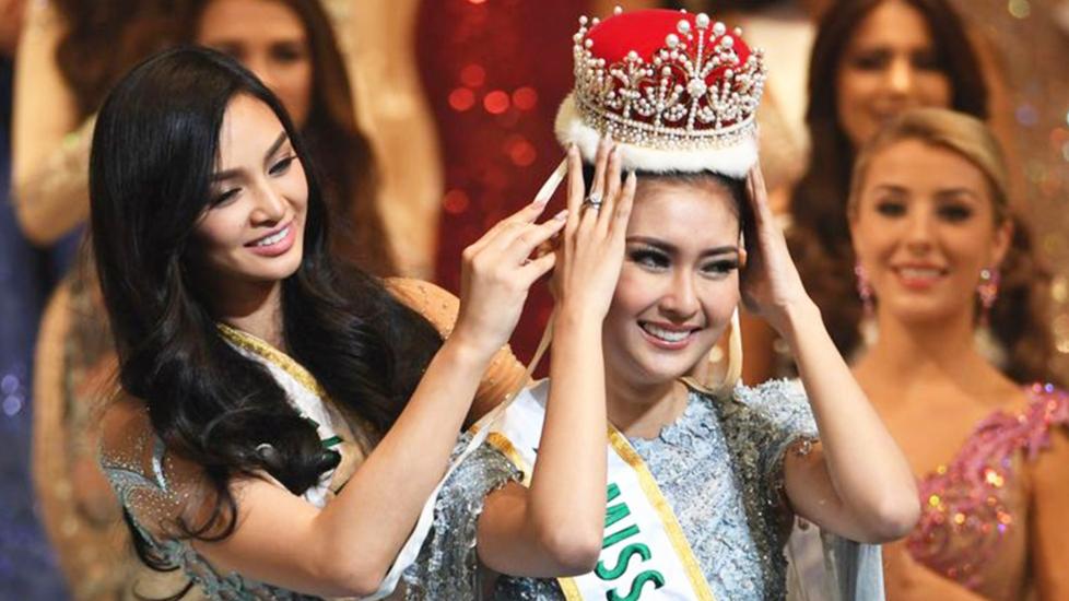Hoa Hậu Indonesia Đăng Quang Hoa Hậu Quốc Tế 2017