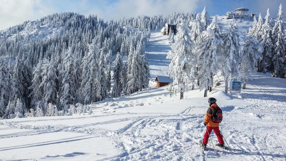 [4K] Mùa Đông Tuyết Phủ Trắng Trời Ở Romania