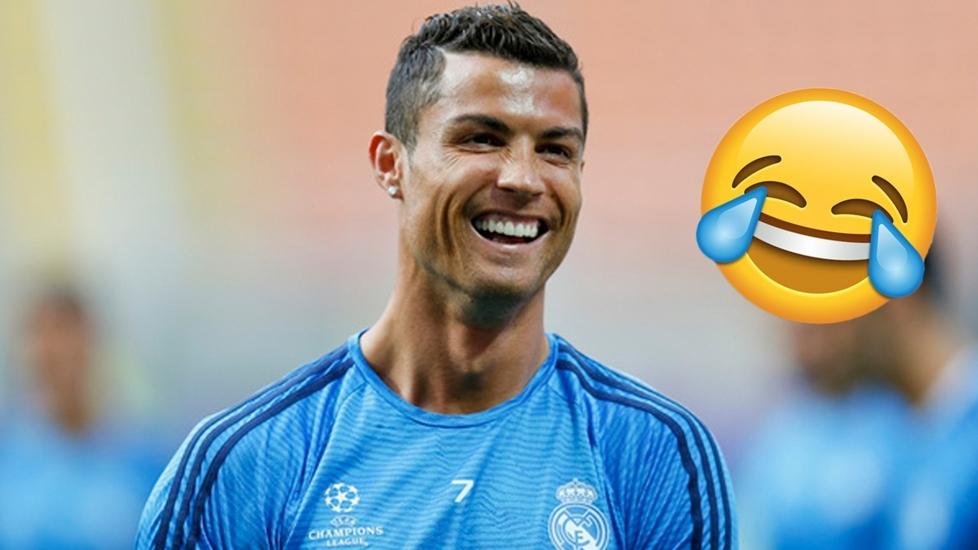 Những Tình Huống Hài Hước Nhất Của Cristiano Ronaldo